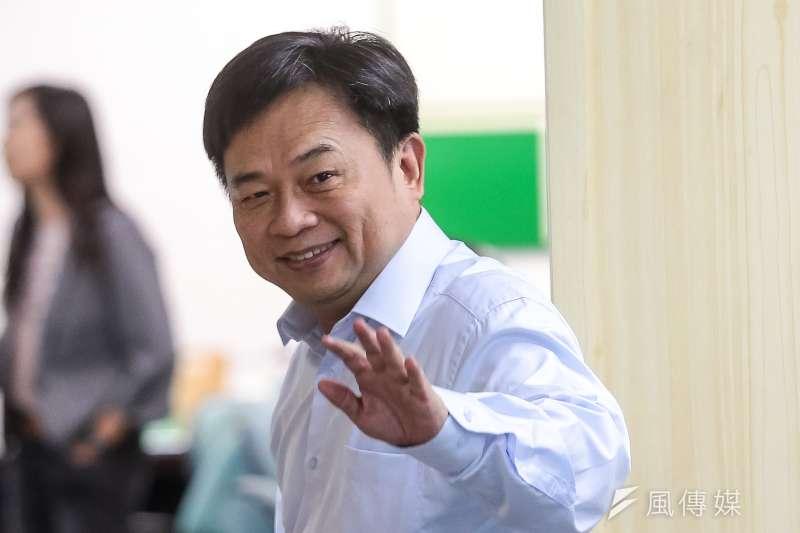 民進黨選對會召集人林錫耀今(13)日也在民進黨中常會宣示,侯友宜近期因為房子出租問題引起社會質疑,未來會用更嚴格角度檢視侯友宜人格作為。(顏麟宇攝)