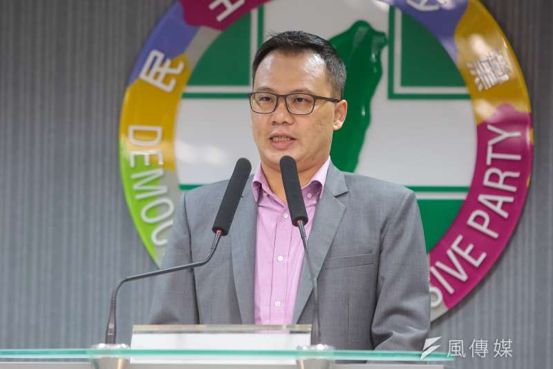 針對國民黨主席吳敦義提出的「兩岸和平協議論」,民進黨發言人林琮盛14日指出,這絕非和平的保障。(資料照,顏麟宇攝)