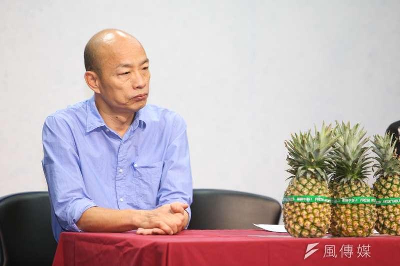 「與其說高雄市長選戰是藍綠之爭,倒不如說是代表庶民的『韓流』,與象徵權貴『新潮流』的歷史對決,其結果必然對選後的台灣政治大洗盤影響至鉅。」(資料照,陳明仁攝)