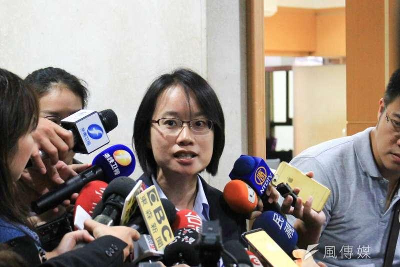 北農總經理吳音寧因堅持不赴議會備詢,被議員表決趕出議會。(資料照,方炳超攝)