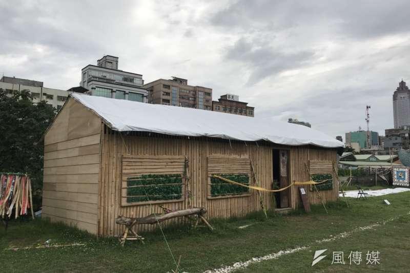 20180619_華山大草原分屍命案,案發之小木屋。(吳尚軒攝)