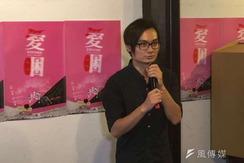 白舍藝術創辦人林俊安認為,這次策展讓街友創作自己「夢想的窩」,創作的過程中看到他們的創意與行動力,那種「渴望有一個家」的感覺令他為之動容。(黃宇綸攝)