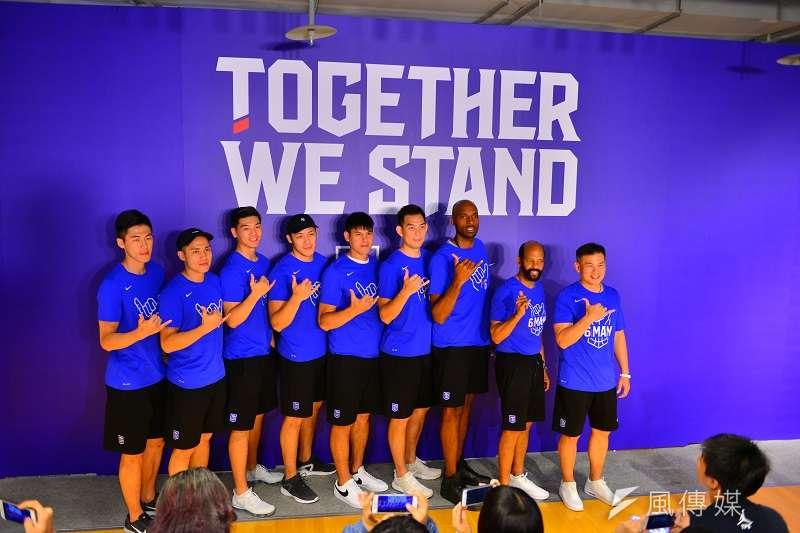 中華男籃為世界盃資格賽舉辦誓師大會。 (圖/金茂勛攝)