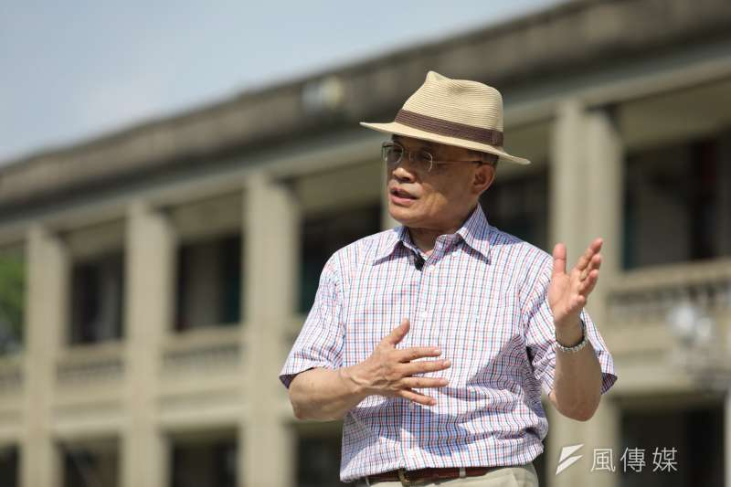 新北市長參選人蘇貞昌一早就到三峽五寮體驗「筍農」生活。(資料照,蘇貞昌辦公室提供)