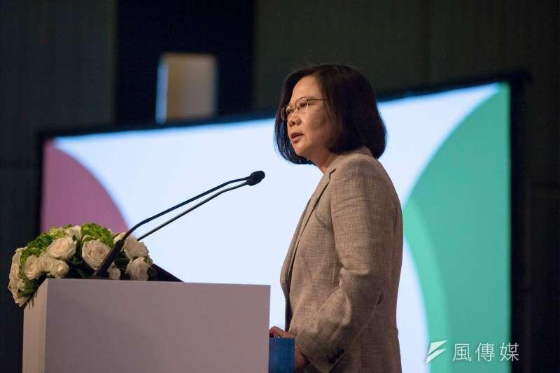 20180625_總統蔡英文慶祝台灣民主基金會創會15週年。(翻攝蔡英文臉書)