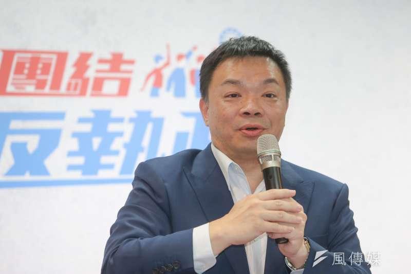 國民黨台南市長參選人高思博說,若成為台南市長,將修法允許大學結合社會企業,成為員工培訓和進修基地。(資料照,陳明仁攝)