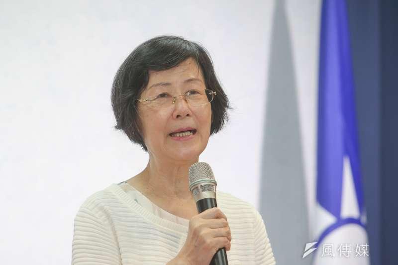 前法務部長羅瑩雪(見圖)昨(3)日辭世,享壽69歲。(資料照,陳明仁攝)