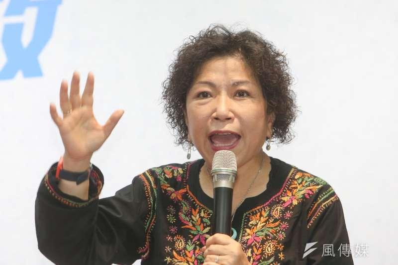 葉毓蘭認為台灣警察的困境是政府長久造成,更直言「沒有看過有人如此踐踏公權力,如此糟蹋警察。」(資料照,陳明仁攝)