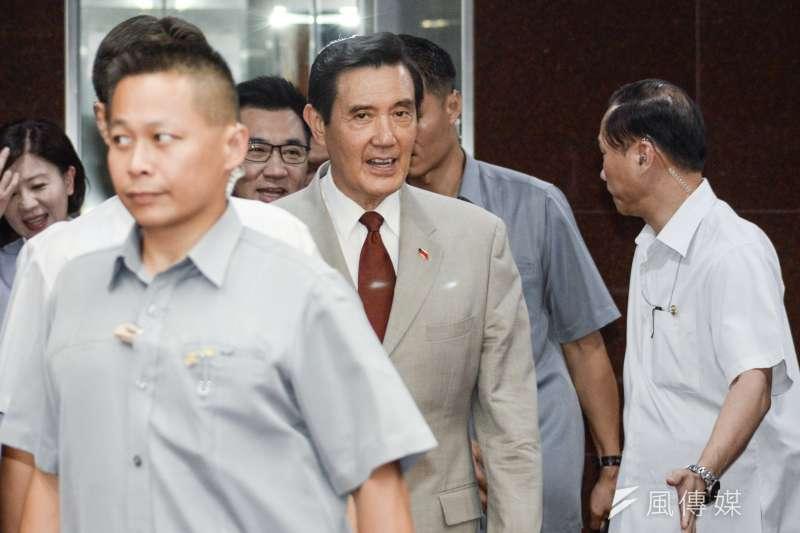 前總統馬英九為三中案,遭檢方起訴。(甘岱民攝)