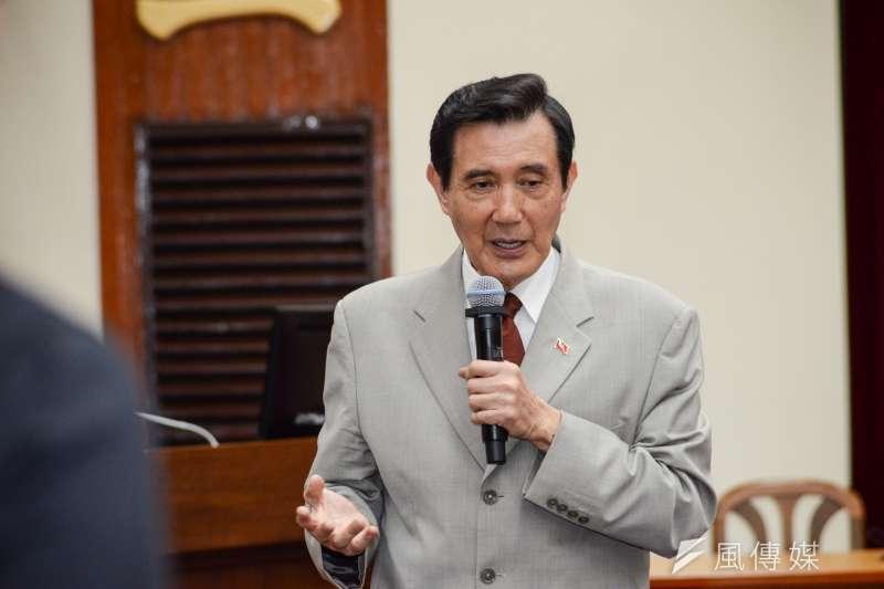 前總統馬英九遭北檢起訴,目前尚未收到起訴書。(甘岱民攝)