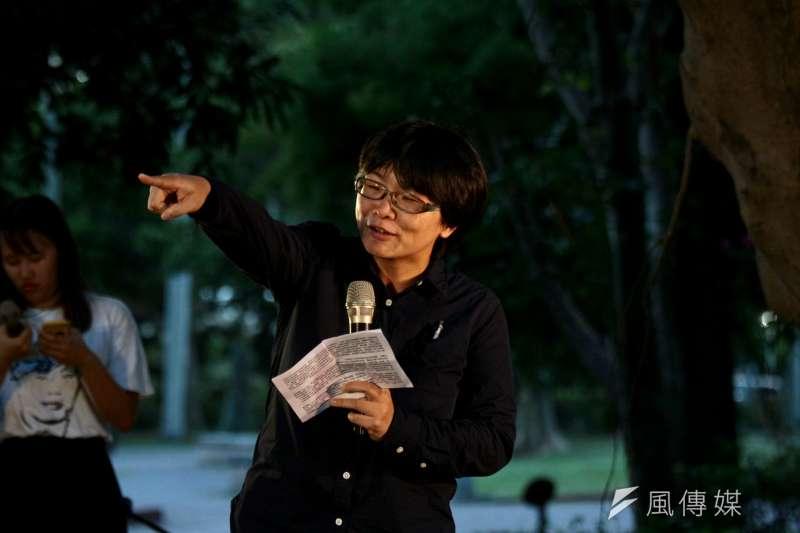 20180702-促轉會委員葉虹靈出席陳文成紀念晚會。(陳韡誌攝)