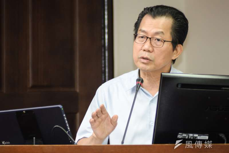 20180702-衛環委員會,環保署署長李應元。(甘岱民攝)