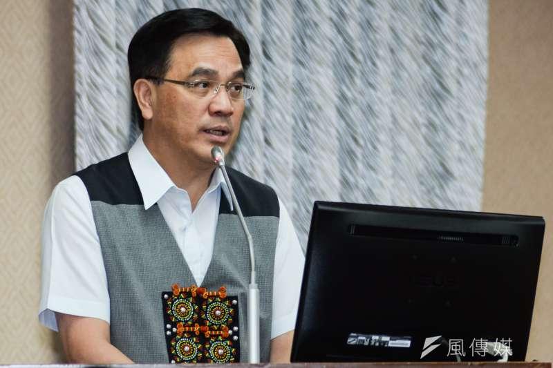 20180702-內政委員會,原民會主委夷將‧拔路兒。(甘岱民攝)