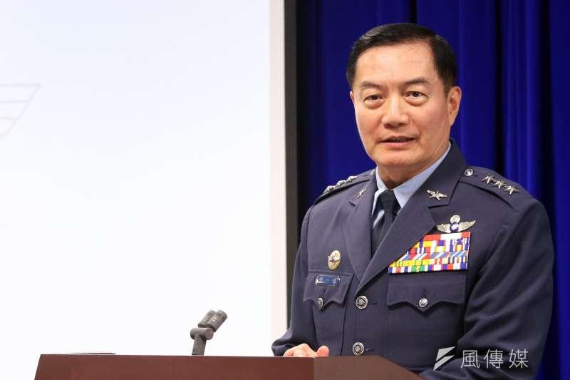 因國軍黑鷹直升機失事殉職的8位將士,均獲追晉和頒贈獎章。參謀總長沈一鳴上將獲追晉為4星一級上將。(資料照,蘇仲泓攝)
