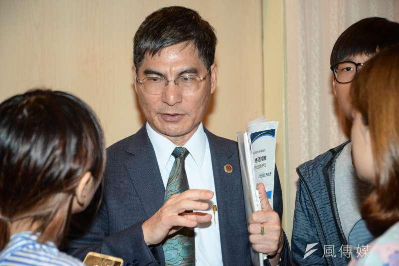 20180703-科技部長陳良基。(甘岱民攝)