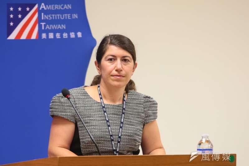 AIT發言人孟雨荷(Amanda Mansour)告訴中央社記者,有注意到台灣與薩國斷交的消息。她表示,中國片面改變現狀的做法無助區域穩定,反而是破壞已維持數十年和平、穩定發展的架構。(資料照,顏麟宇攝)