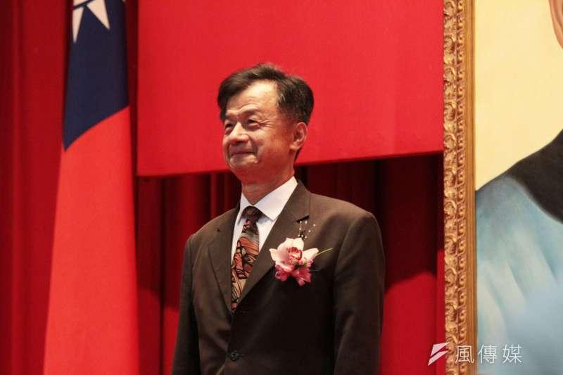 前法務部長邱太三捲入司法關說(陳情)請辭國安會諮詢委員。(陳韡誌攝)