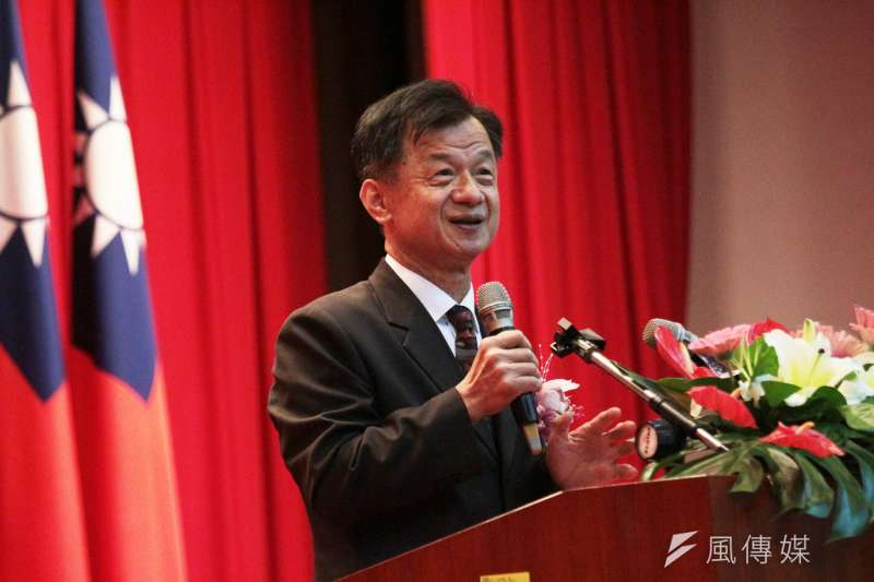 前法務部長邱太三涉入司法「陳情」,請辭國安會諮詢委員。(陳韡誌攝)