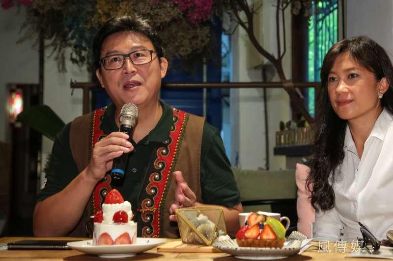 對於民調落後、支持度不到10%,民進黨台北市長參選人姚文智表示:「應該找學姊或學妹」。(資料照,顏麟宇攝)