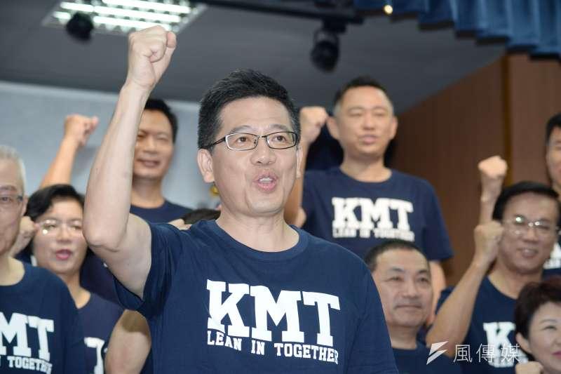 曾2度代表國民黨參選基隆市長失利的海洋大學教授謝立功(見圖),31日正式宣布退出國民黨、加入台灣民眾黨,並接任秘書長一職。(資料照,甘岱民攝)