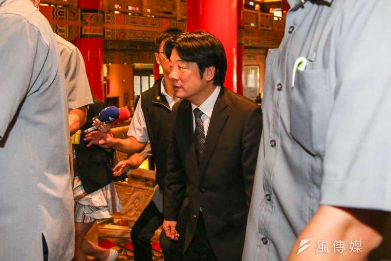 20180715行政院長賴清德出席「民主進步黨改革政績一定營」。(陳明仁攝)