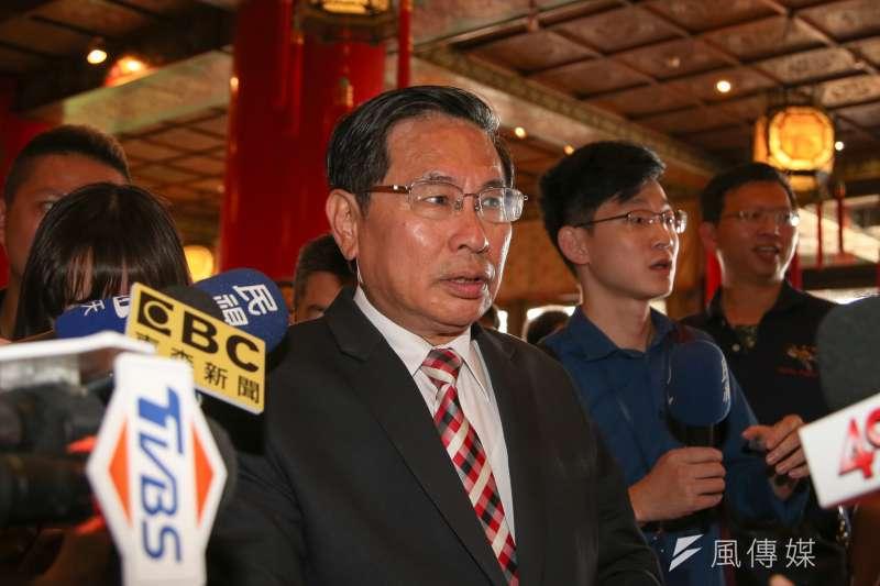 20180715-嘉義市長塗醒哲出席「民主進步黨改革政績一定營」 。(陳明仁攝)