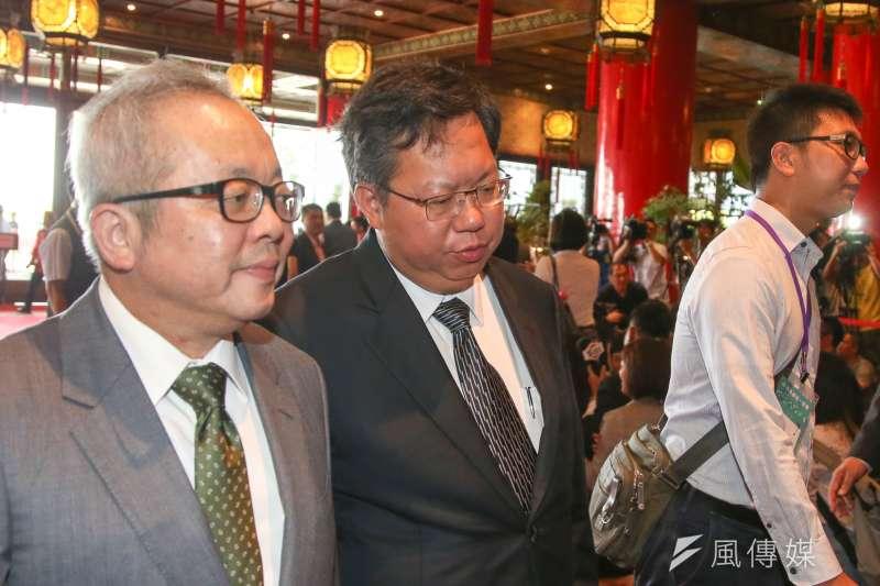 桃園市長鄭文燦出席「民主進步黨改革政績一定營」 。(陳明仁攝)
