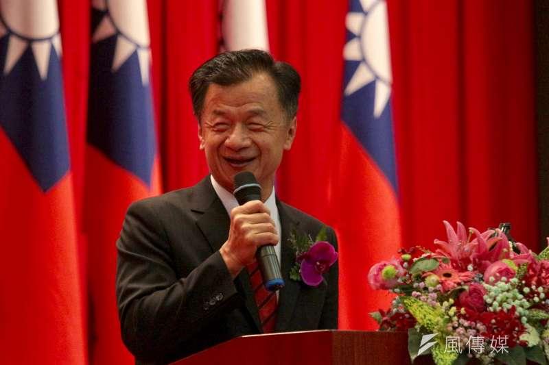 前法務部長、國安諮詢委員邱太三被爆司法關說。(陳韡誌攝)