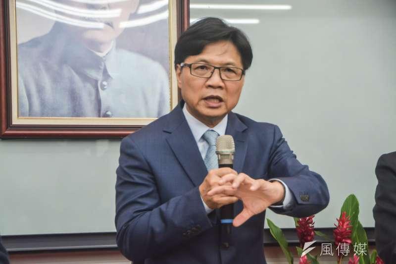 20180716-教育部代理新任部長交接典禮,教育部部長葉俊榮。(曾定嘉攝)
