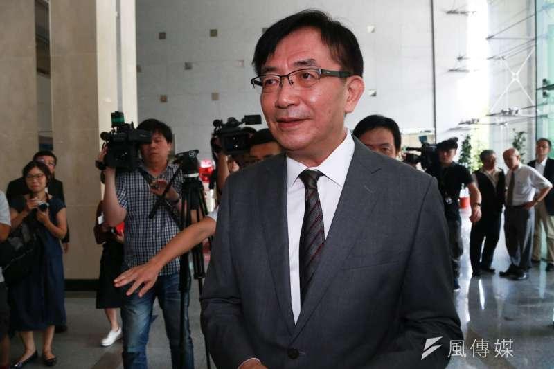 交通部長吳宏謀說,關於機師罷工,交通部有備案,但盼備而不用。(資料照,簡必丞攝)