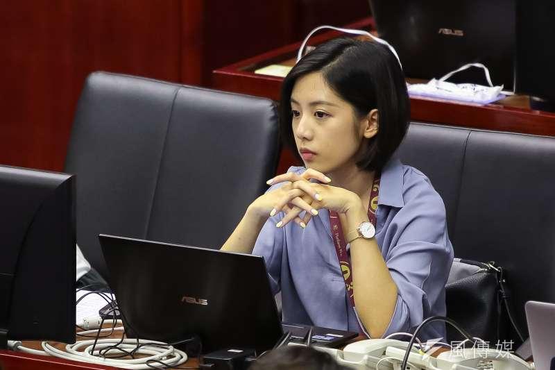 綠營幹部爆料,「學姐」黃瀞瑩(見圖)2020年可能角逐北市立委選舉。(資料照,顏麟宇攝)