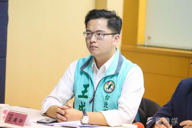 台北市議員王威中(見圖)爭取連任失利,曾與他槓上的「街口支付」於26日高調辦活動慶祝王威中落選。(資料照,陳明仁攝)