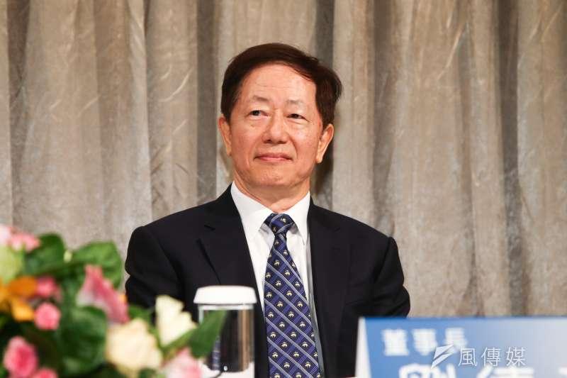 台積電董事長劉德音今(20)日首度主持公司運動會,發放3.9萬名員工,每人新台幣1.2萬元獎金。(資料照,陳明仁攝)