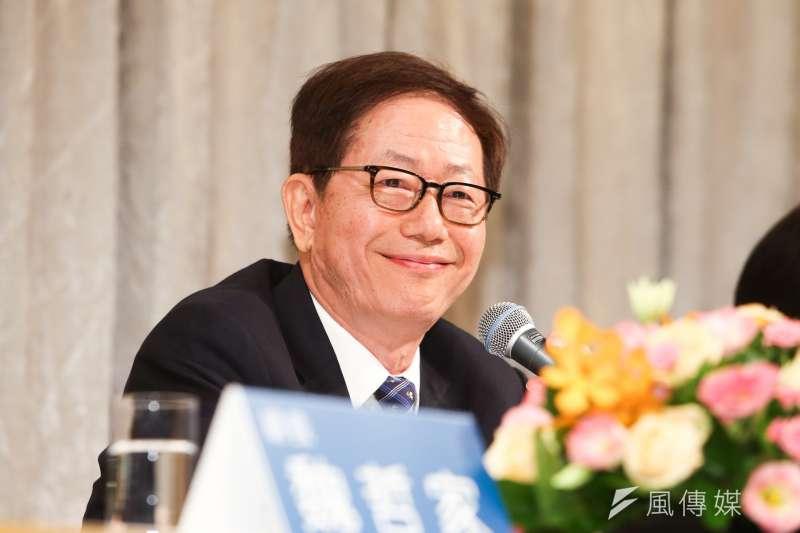 台積電董事長劉德音(見圖)31日表示,半導體製造業需要土地,對穩定電力與水力供給依賴很深,希望政府能更多支持。(資料照,陳明仁攝)