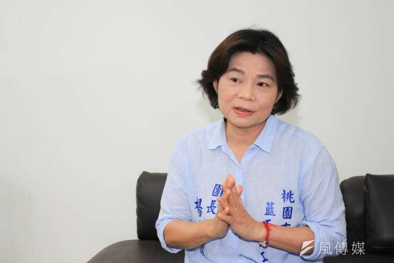 楊麗環未獲國民黨桃園市長提名,今天宣布退黨。(資料照,方炳超攝)