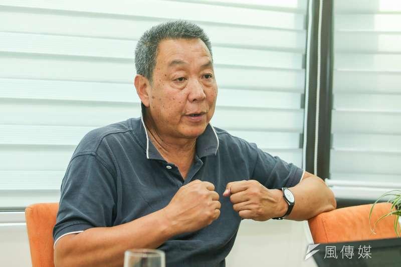 中國紀錄片導演徐星說,作品《我的文革編年史》基本記載了他的文革10年,「我最深刻的記憶只有暴力」。(陳明仁攝)