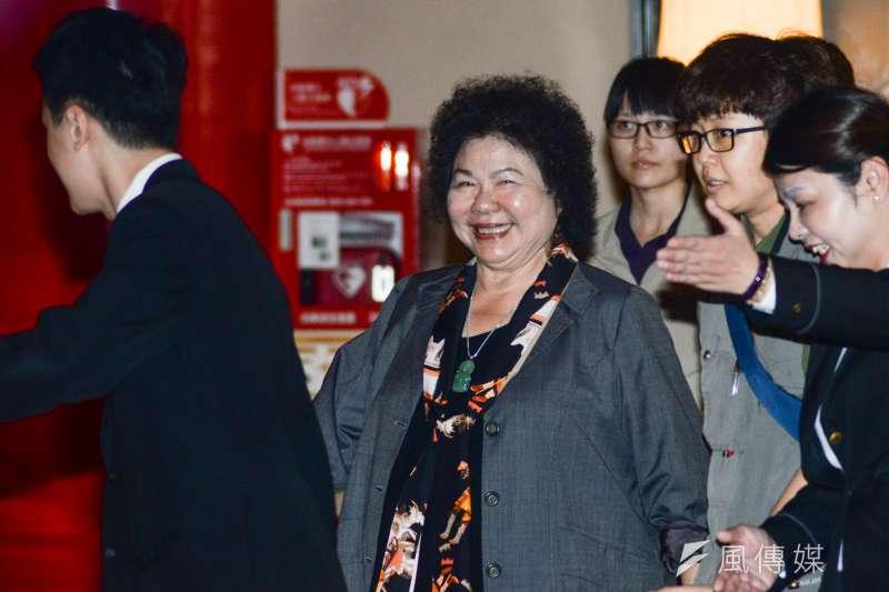 20180721-「挺改革 拼未來」社團高峰會,總統府秘書長陳菊出席。(甘岱民攝)