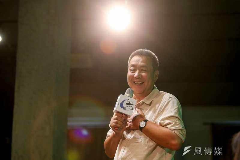 中國導演徐星執意做著「當局者害怕」的事情,以前他的電影還可以在酒吧、書店、大學放映,現在能不能放,都像賭博一樣。(陳明仁攝)