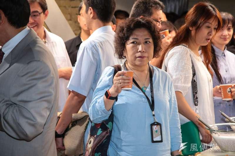 20180722-前警大教授葉毓蘭22日出席「蘆葦女力共益信託社會福利基金會」成立記者會。(顏麟宇攝)