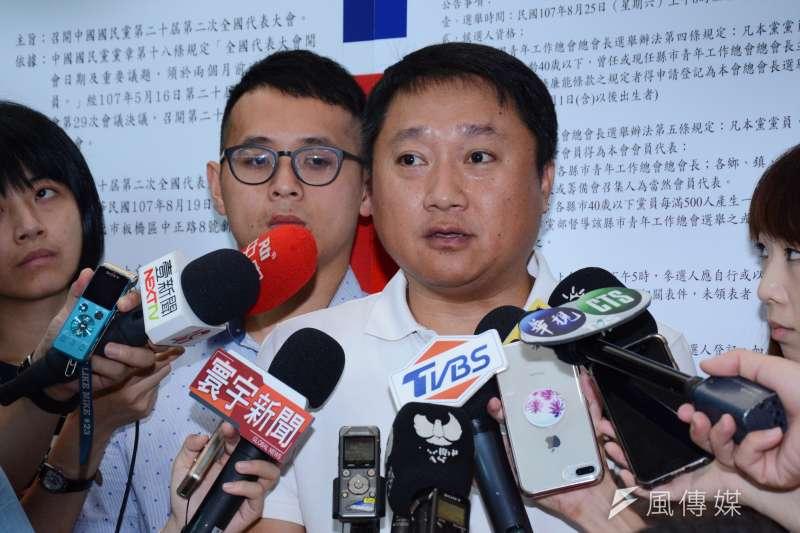 20180723-組發會主委李哲華受訪。(龍德成攝)