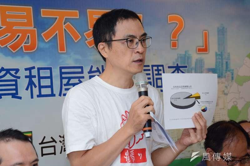 崔媽媽基金會執行長呂秉怡表示,包租代管是過渡性政策,且壓在民間市場的挑戰性本身就高。(龍德成攝)