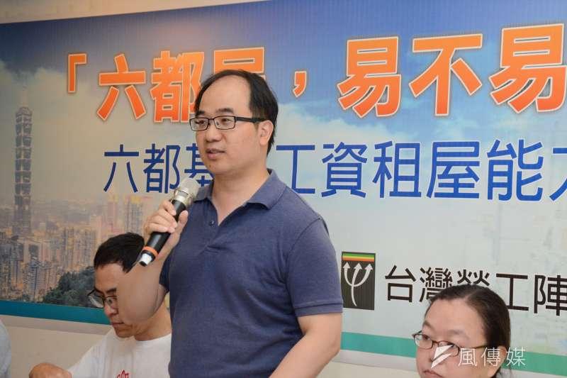 20180726-台灣勞工陣線蔡培元理事長。蔡培元(龍德成攝)