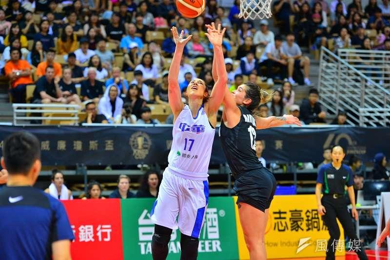 包喜樂在受訪時表示,自己還沒有完全適應中華隊球風,出手節奏也沒有掌控好,這也是目前最需要改善的部分。 (金茂勛攝)
