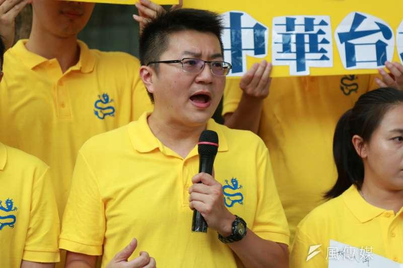 台北市議員選舉剩不到4個月,針對松山信義選區,新黨將推出捲入共諜案、被國安法起訴的林明正。(簡必丞攝)