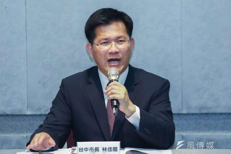 台中市長林佳龍已向EAOC提出申復,要求繼續主辦東亞青年運動會。(簡必丞攝)