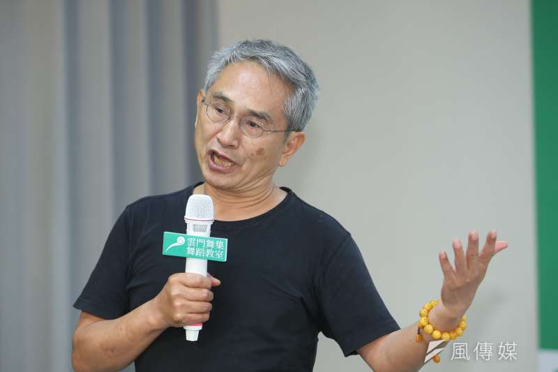雲門舞蹈教室創辦人林懷民錄製影片公開力挺婚姻平權。(資料照,陳明仁攝)