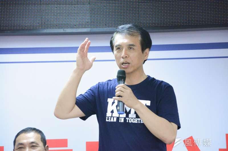 國民黨桃園市長參選人陳學聖表示,選情現在已經漸入佳境,「只剩下一塊拼圖就完成」。(資料照,曾定嘉攝)