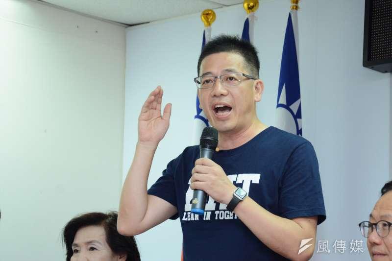 曾代表國民黨參選的謝立功之前已公開表示加入民眾黨,國民黨今天開除黨籍。(資料照片,龍德成攝)