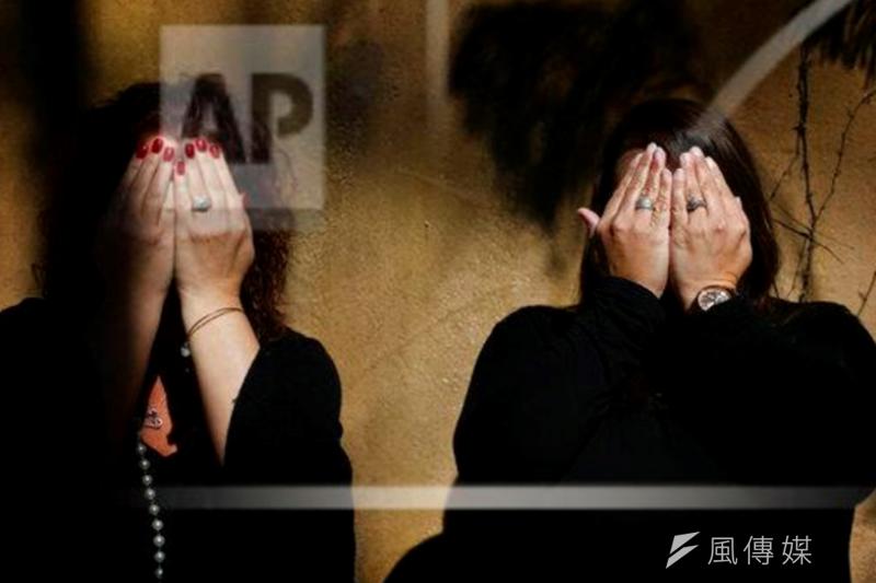 反性犯罪示意圖(AP)