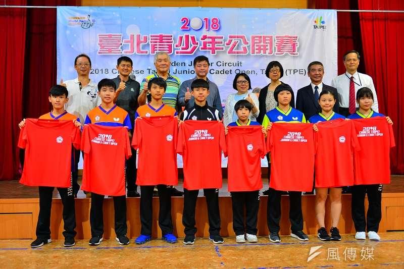 臺北青少年桌球公開賽將在8月22日至26日於臺北體育館登場,共有12國、160位選手參戰。 (金茂勛)